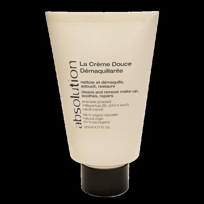 La Crème Douce Démaquillante is speciaal ontwikkeld voor de gevoelige en/of droge huid. Het reinigt oog-, gezicht- en lip-make-up.